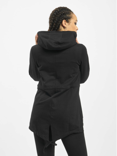 Urban Classics Ladies Transition Jacket In Black Terry