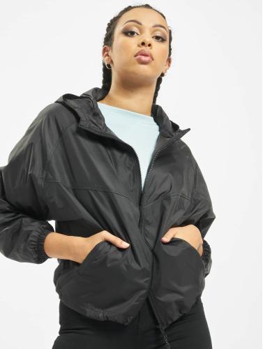 Urban Classics Ladies Transition Jacket In Black Olivia
