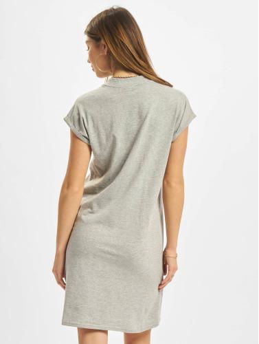billig real målgang best for salg Urban Classics Mujeres Vestido Skilpadde Utvidet Skulder På Gris U0xHIhS2G