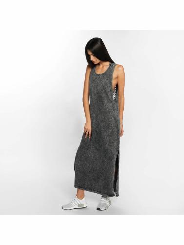 Urban Classics Mujeres Vestido Random Wash Back Cut in negro