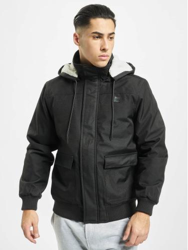 Urban Classics Herren Winterjacke Heavy Hooded in schwarz