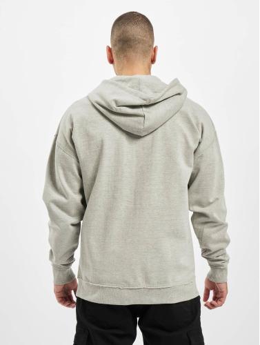 Urban Classics Herren Zip Hoodie Oversized in grau