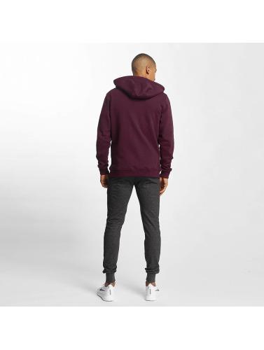 Urban Classics Herren Zip Hoodie Basic in rot