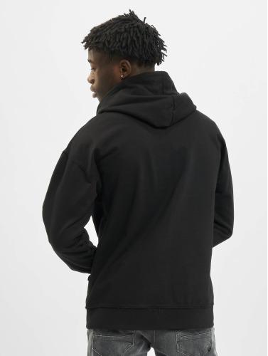 Urban Classics Herren Zip Hoodie Oversized in schwarz