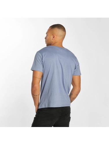 Urban Surface Hombres Camiseta Life Sea in azul