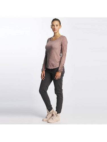 Overflaten Urbane Kvinner Blonder Langermet Skjorte I Rosa klaring kjøpet AM6673Wjx