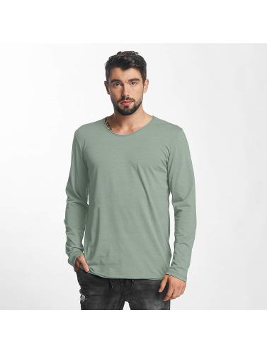 Urban Surface Hombres Camiseta de manga larga Dreamy in verde
