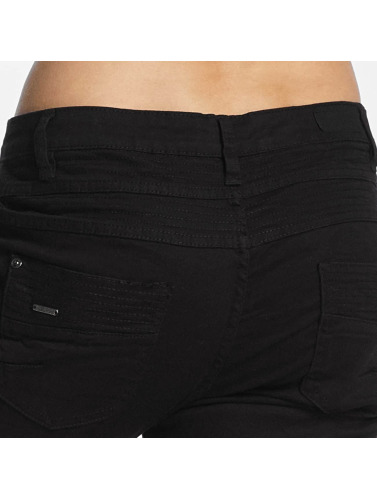 Urban Surface Damen Chino 5 Pocket in schwarz
