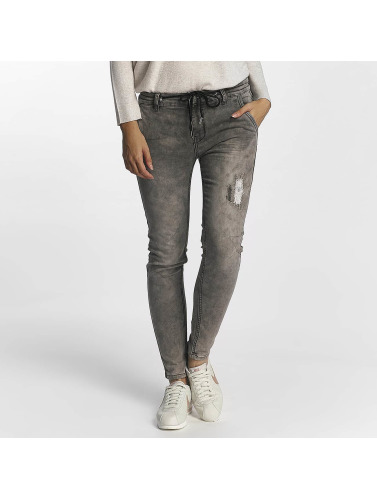 Urban Surface Damen Jogginghose Jogg Jeans in grau