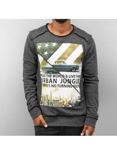 Urban Surface Herren Pullover Urban Jungle in grau