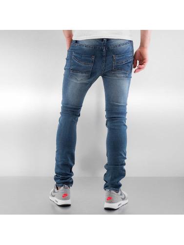 Urban Surface Herren Skinny Jeans Jogg in blau