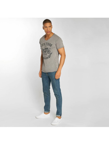 Urban Surface Herren T-Shirt Custom in grau