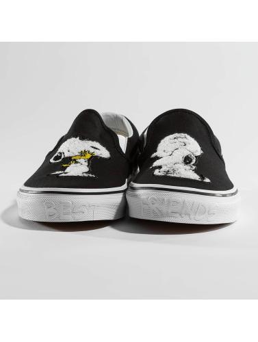 Vans Sneaker Peanuts Classic Slip On in schwarz