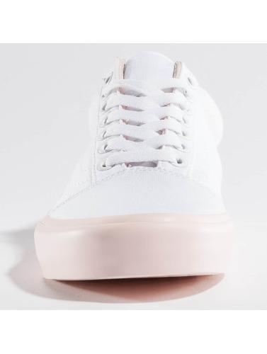 Vans Ladies Sneaker, Among Other Things Old Skool In White