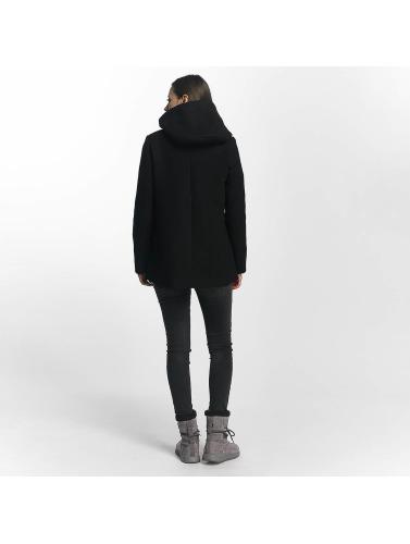 Vero Moda Mujeres Abrigo vmCollar in negro