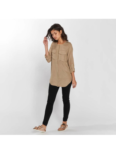 Vero Moda Damen Bluse vmCobra in beige