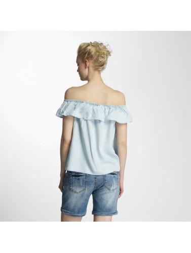 Vero Moda Damen Bluse vmKatinka in blau