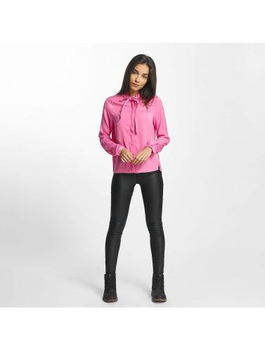 Vero Moda Damen Bluse vmLilje Satin in pink