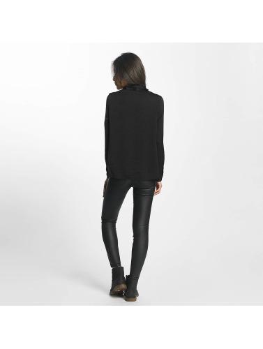 Vero Moda Damen Bluse vmLilje Satin in schwarz
