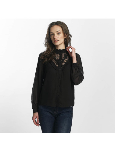 Vero Moda Damen Bluse vmRose Lace in schwarz