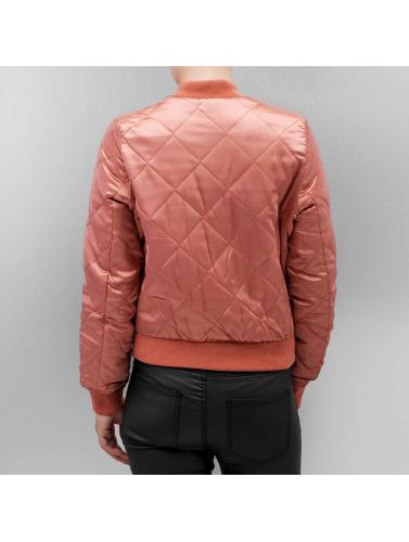 Vero Moda Damen Bomberjacke vmMalou Short in rosa