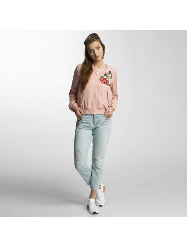 True Fashion Damen Bomberjacke Vmrose In Pink