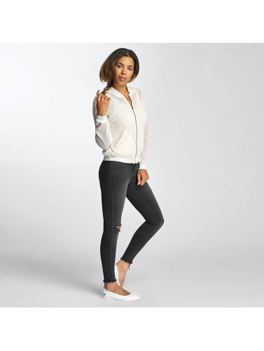 Vero Moda Ladies Bomber Jacket In White Vmelrose