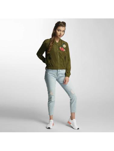 Vero Moda Mujeres Cazadora bomber vmRose in oliva