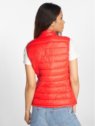Vero Moda Mujeres Chaleco vmSoraya in rojo