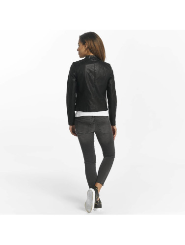 Vero Moda Damen Lederjacke vmSoffy in schwarz