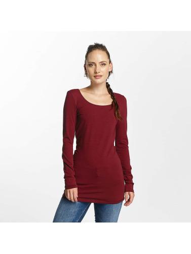 Vero Moda Damen Longsleeve vmMaxi in rot Rabatt Angebot nus1f