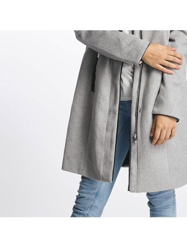 Vero Moda Damen Mantel vmPrato in grau