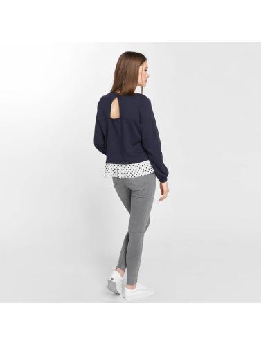 Neue Ankunft Art Und Weise Empfehlen Online Vero Moda Damen Pullover vmLinit in blau Neue Ankunft Online Freies Verschiffen Footlocker dFd0yS