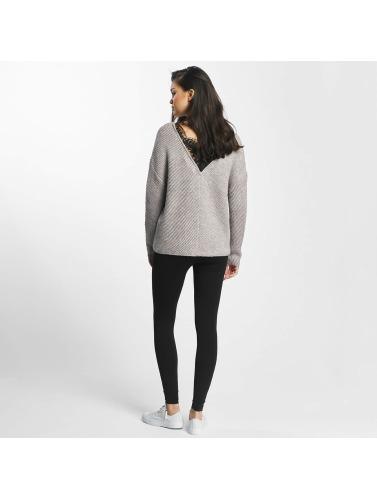 Vero Moda Damen Pullover vmBuena Lena in grau