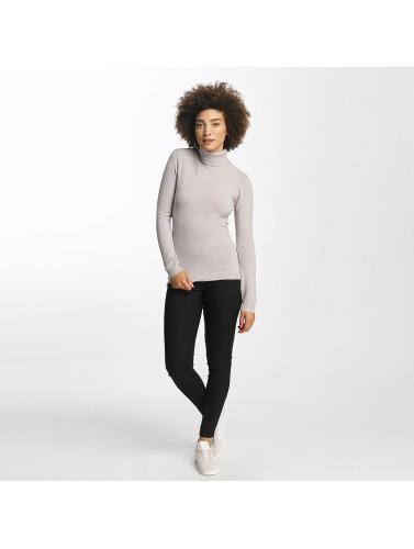 Vero Moda Damen Pullover vmHappy Rollneck in grau