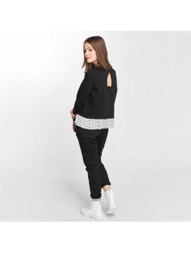 Vero Moda Damen Pullover vmLinit in schwarz