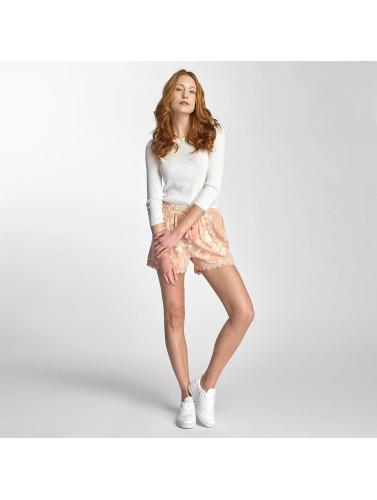 Vero Moda Damen Pullover vmEmma 3/4 in weiß