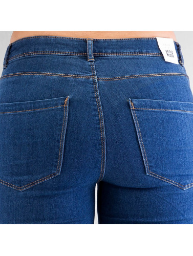 Vero Moda Damen Skinny Jeans vmFlex-It in blau