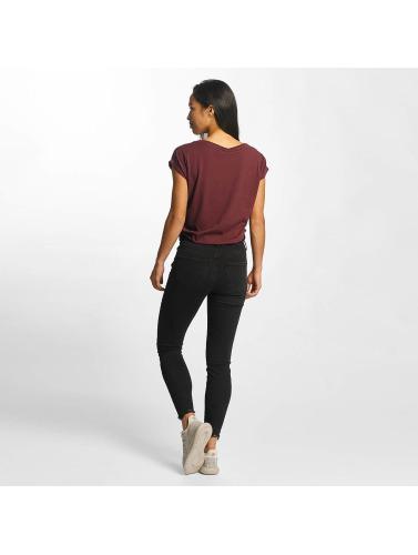Vero Moda Damen Skinny Jeans vmSeven Hem in schwarz
