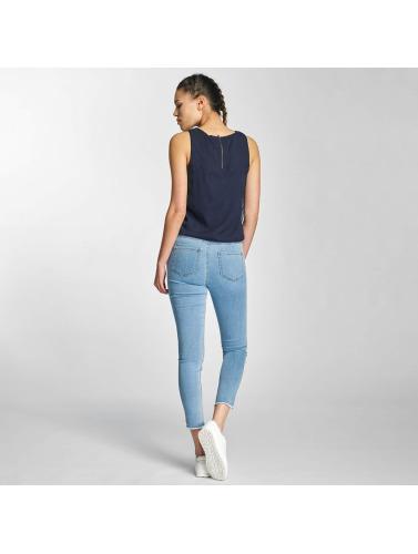 Vero Moda Damen Slim Fit Jeans vmNine in blau