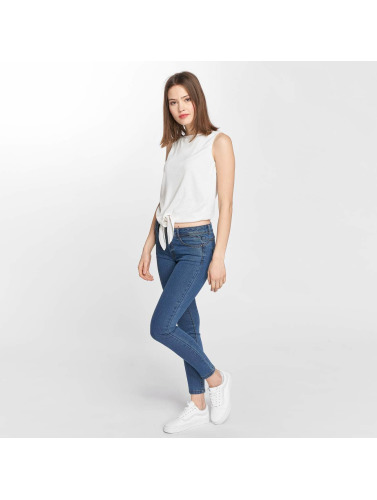 Vero Moda Damen Slim Fit Jeans vmHot in blau