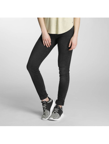 Vero Moda Damen Slim Fit Jeans vmSeven in schwarz