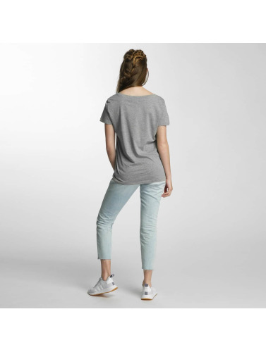 Vero Moda Damen T-Shirt vmSpicy in grau