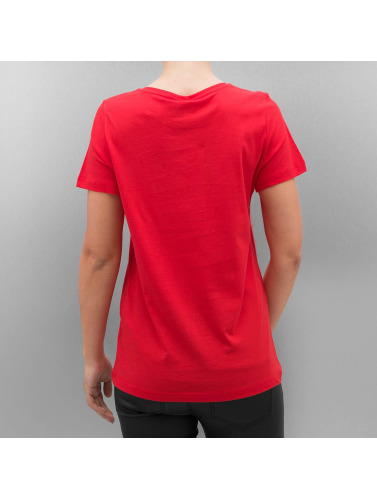 Vero Moda Damen T-Shirt VmMy Christmas in rot