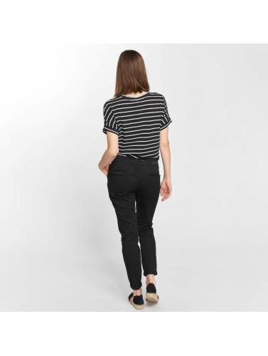 Vero Moda Damen T-Shirt vmLirose in schwarz
