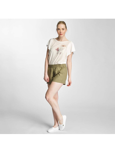 Vero Moda Damen T-Shirt vmLife in weiß