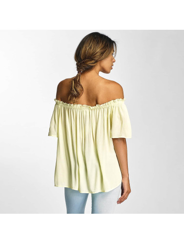 Vero Moda Mujeres Top vmPatricia in amarillo