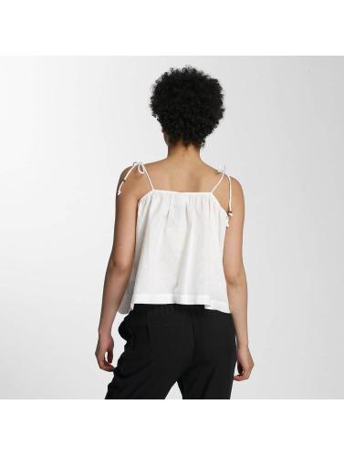 Vero Moda Mujeres Top vmDot Midi Singlet Denim in blanco