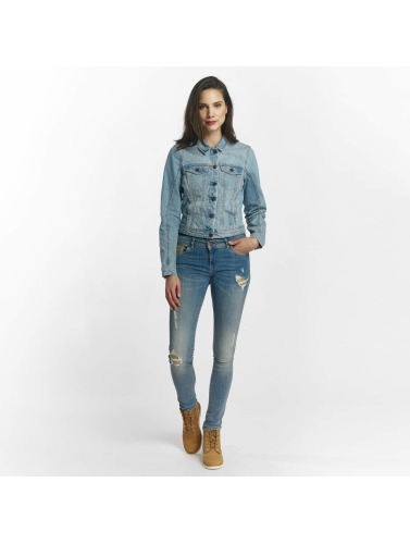 Vero Moda Ladies Transition Jacket In Blue Vmdanger