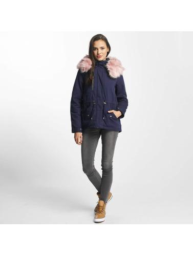 Vero Moda Damen Winterjacke vmRenia in blau